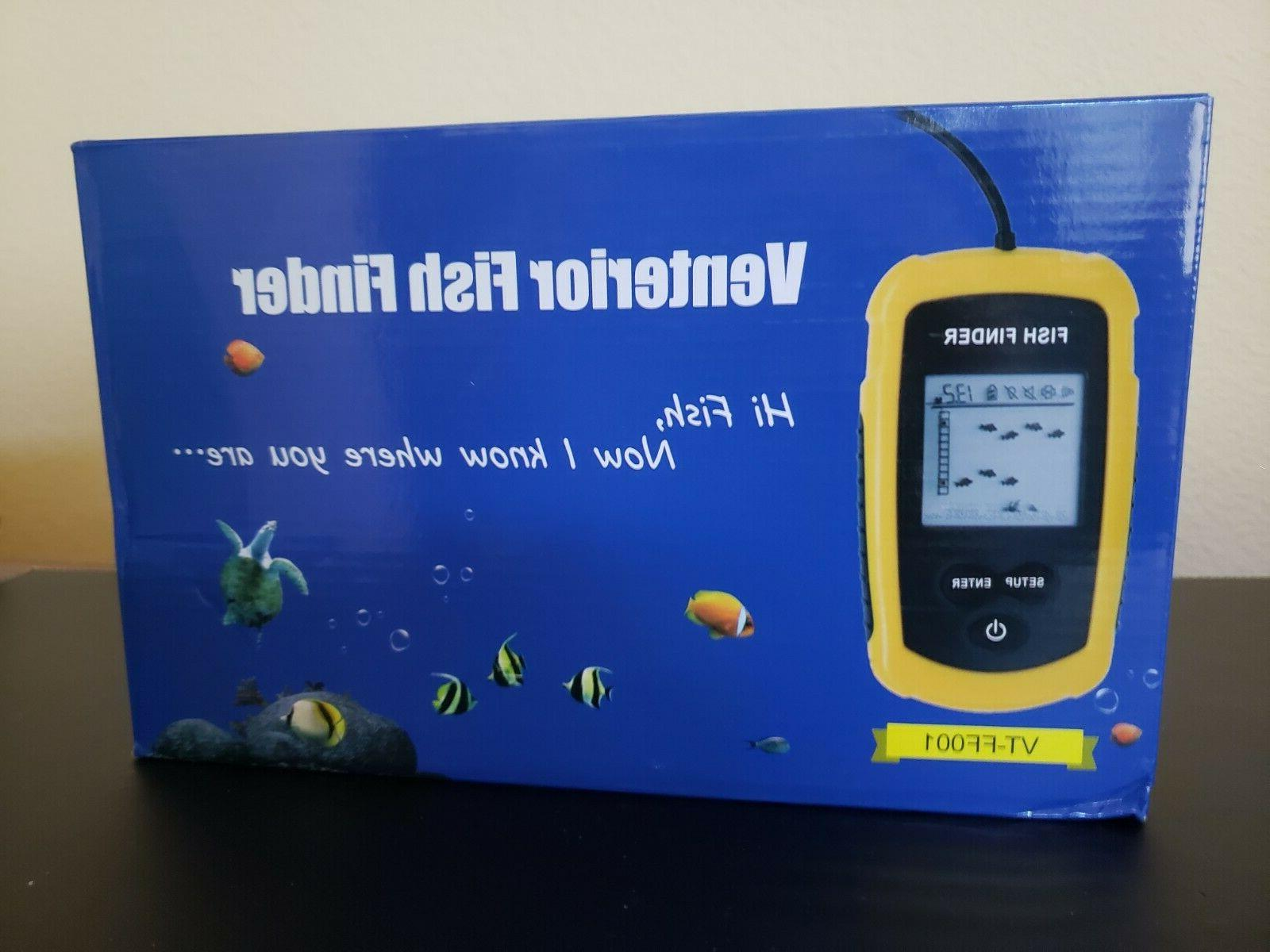 portable fish finder sensor