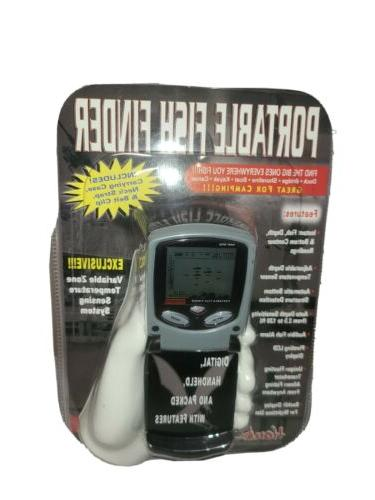 portable fish finder with depth and weed