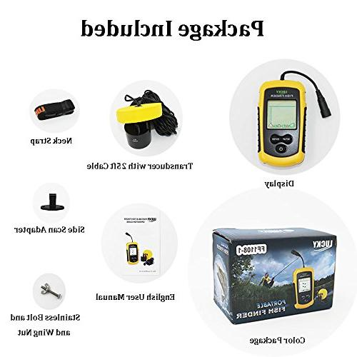 LUCKY Handheld Portable Finders Kayak Finder Ice Sonar and