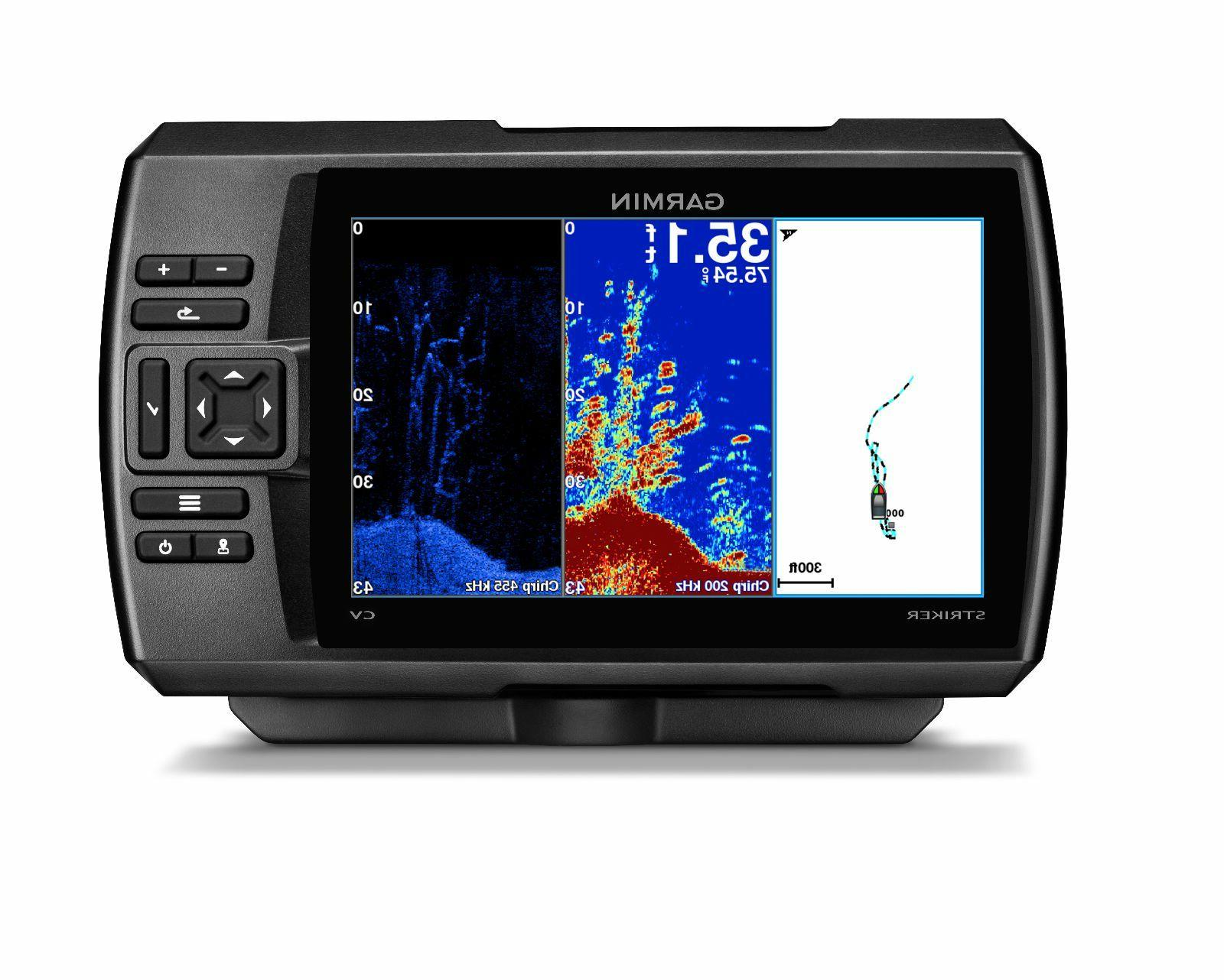striker 7cv chirp gps fishfinder