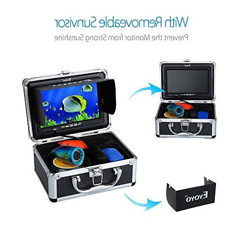 Eyoyo Fish Finder Video Color HD 1000TVL CAM Light