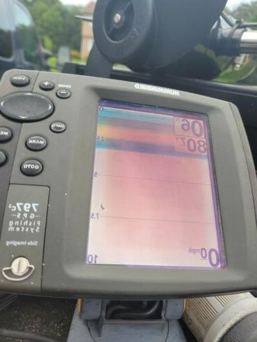 used fish finders transducer