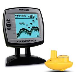 Lixada LUCKY Fish Finder FF918-WS Wireless Sonar Depth 125KH