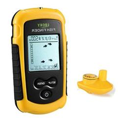 Lucky Portable Fish Finder With 100M Depth Wireless Sonar Se