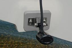 Stern Saver Mini glue-on transducer mounting system for Alum