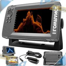 """NEW Lowrance 7"""" GPS Plotter Fishfinder/Fish Finder with Tran"""
