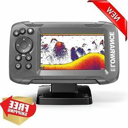 Lowrance HOOK2-4x GPS Fish Finder With Bullet Transducer Dep
