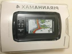 new sealed piranhamax 4 fish finder