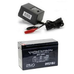 12V 7Ah F1 SLA Replacement Battery for Humminbird 385ci Portable Fish Finder