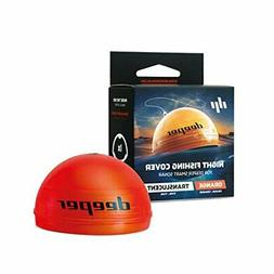 Deeper Night Fishing Cover orange - Compatible with Deeper S