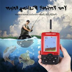 Portable 100M Smart Fish Finder Wireless Remote Sonar Sensor