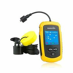 Venterior Portable Fish Finder Handheld Fishfinder Fishing G