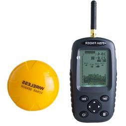 Venterior Portable Fish Finder Rechargeable & Wireless Sonar