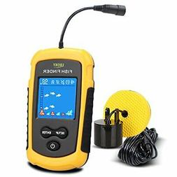 Portable Fish Depth Finder Fishing Gear With Sonar Transduce