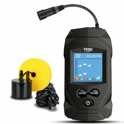 Lucky Portable Fish Finders Wired Transducer Kayak Fish Find