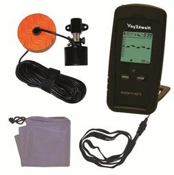 HawkEye Portable Fishfinder Fish Finder With Depth, Structur