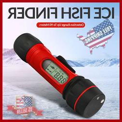 Portable SEA & ICE Fish Finder WIRLESS Transducer Depth SONA