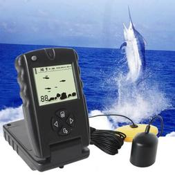 LUCKY Portable Sonar Fish Finder Depth Echo Sounder Underwat