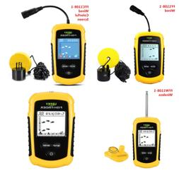 Lucky Portable Wireless Fish Finder Sonar Sensor Transducer