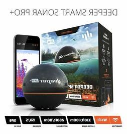 Deeper Pro Plus Fishfinder, Wireless Sonar, Compatible - iOS
