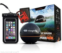 "Deeper Smart Sonar PRO+ Series, 2.55"", Black - GPS, Wi-Fi Co"