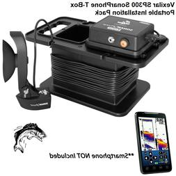 Vexilar SP300 T-Box Smartphone Fish Finder with Portable Cas