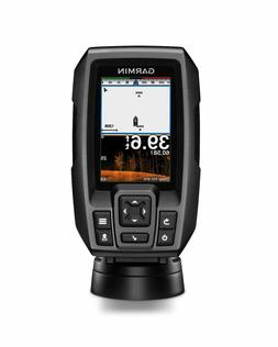 "New Garmin Striker 4cv 3.5"" Color GPS CHIRP Fishfinder w/ Tr"