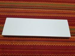 """Transducer Mounting Plate Board For Boat 12""""x3 1/2x3/4 White"""