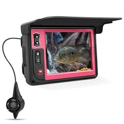 Underwater Fishing Camera, Moocor Portable Fish Finder Camer