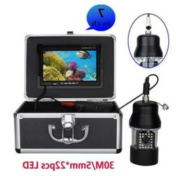 Underwater Fishing Video Camera Fish Finder 7 Inch Color Scr