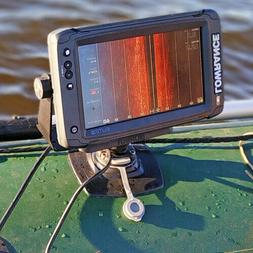 Universal Fish finder mount system for inflatable PVC boats