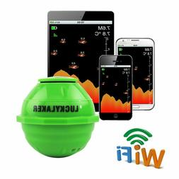 Wifi Wireless Fish Finder Lucky Ff916 Laker Russian Sonar Fi