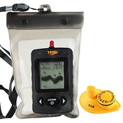 Lucky Wireless Black Dot Matrix Fish Finder with Waterproof